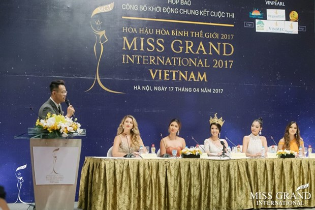 Miss Grand International to boost Vietnam tourism hinh anh 1