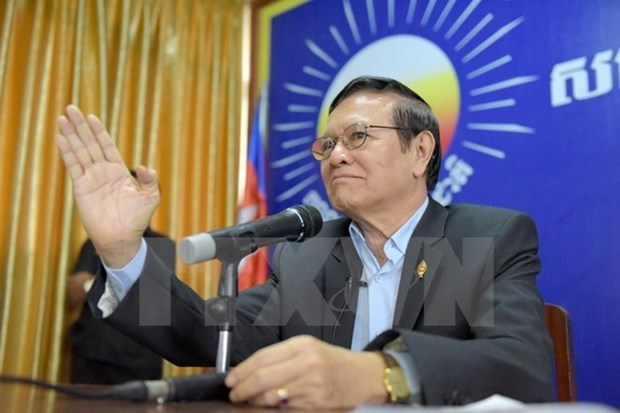 Cambodia's opposition party to hold extraordinary congress hinh anh 1