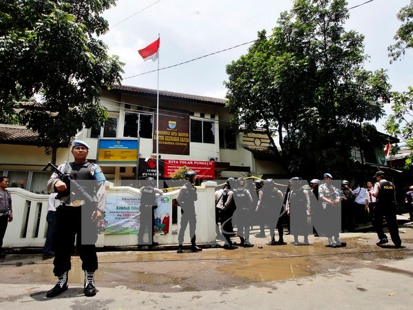 Indonesia deploys over 60,000 security personnel for election hinh anh 1