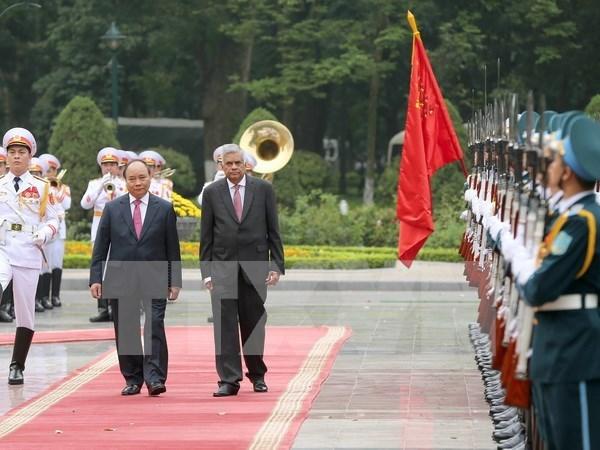 Sri Lankan Prime Minister wraps up Vietnam visit hinh anh 1