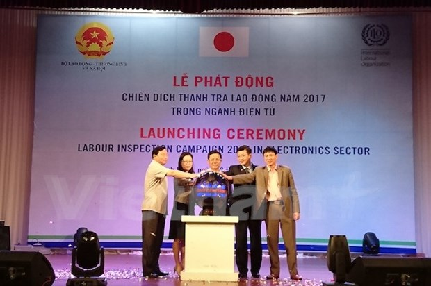 Labour inspection campaign in electronic sector launched hinh anh 1