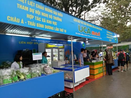 First fair of cooperatives' products kicks off in Hanoi hinh anh 1