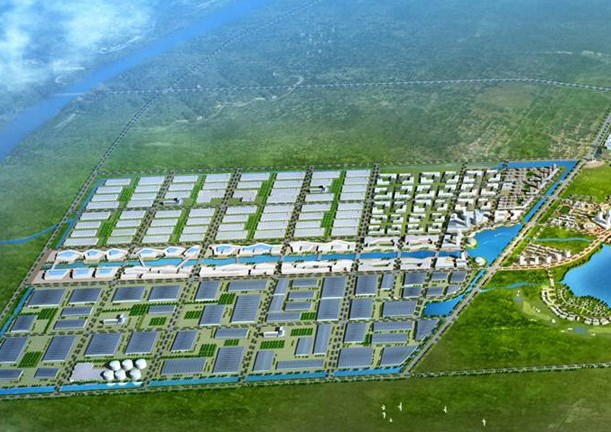 Work starts on Vietnam's largest textile industrial park hinh anh 1