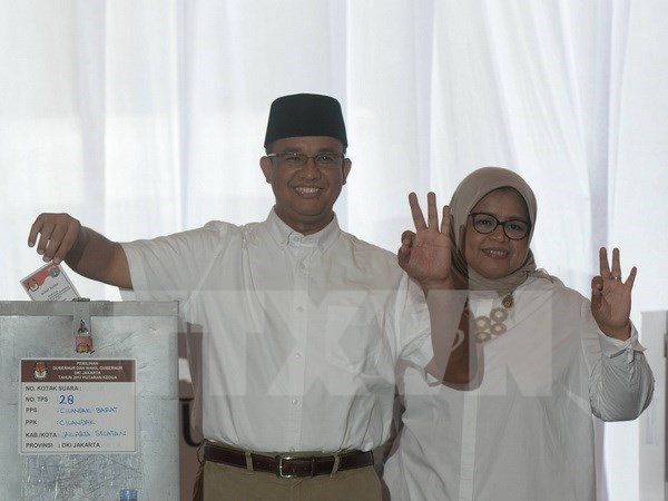 Indonesia: Muslim candidate takes lead in Jakarta's governor run hinh anh 1