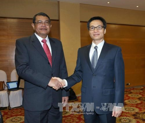 Vietnam, Cambodia step up cooperation in fight against drugs hinh anh 1