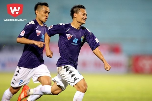 Ceres Negros thrashes Hanoi FC 6-2 in AFC Cup hinh anh 1
