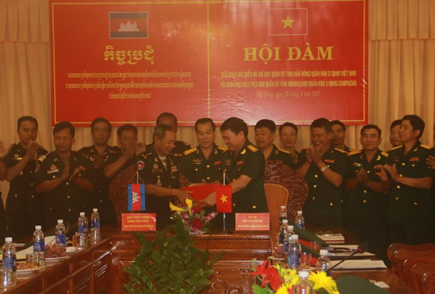 Dak Nong reinforces connections with Cambodian province hinh anh 1