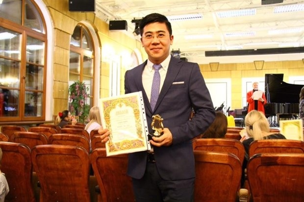 Vietnamese music teacher wins first prizes at int'l competitions hinh anh 1