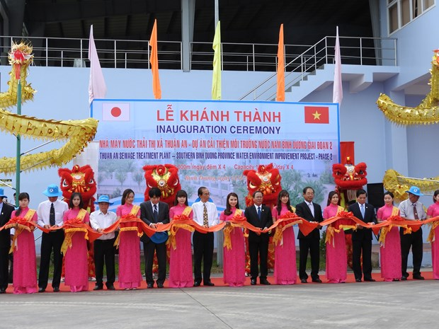 Binh Duong's second waste water plant begins operation hinh anh 1