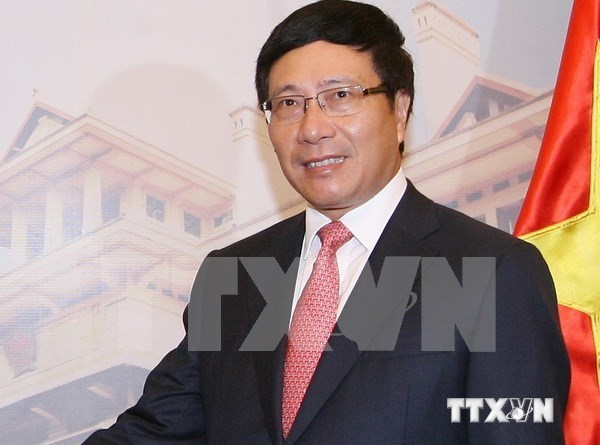 Deputy PM busy with meetings in US official visit hinh anh 1