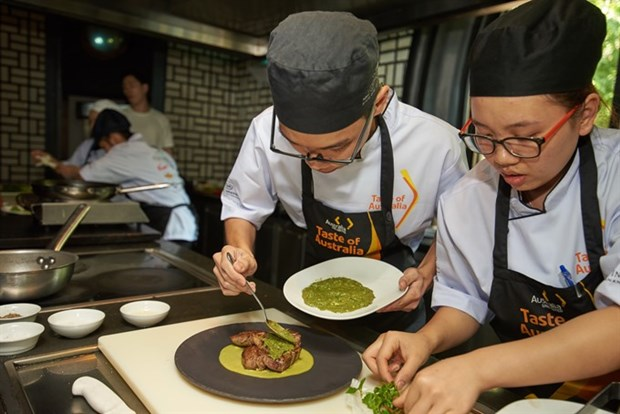 Hanoi students win Taste of Australia culinary competition hinh anh 1
