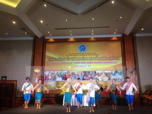 Traditional festivals of Asian countries celebrated in Hanoi hinh anh 1