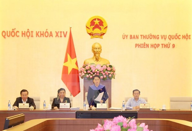 14th NA Standing Committee wraps up ninth meeting hinh anh 1