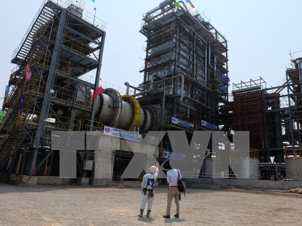 First industrial waste power generation plant inaugurated hinh anh 1