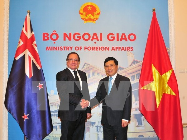 Vietnam, New Zealand look forward to stronger ties hinh anh 1