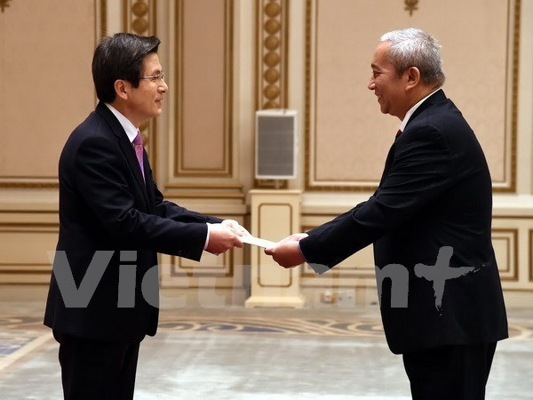 RoK acting President values ties with Vietnam hinh anh 1