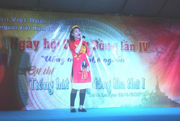 Vietnamese in Malaysia celebrate national holidays hinh anh 1