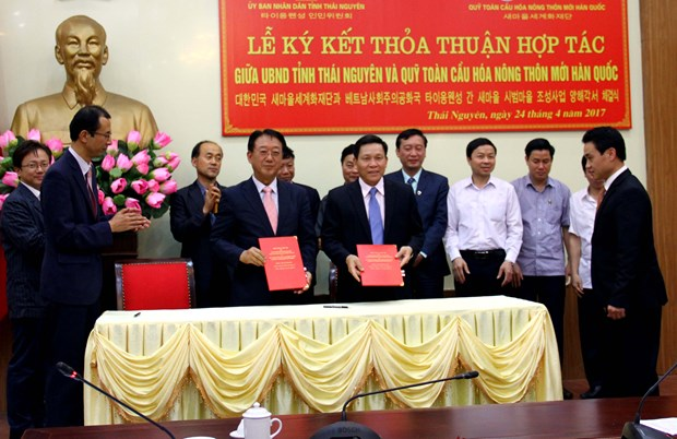 Thai Nguyen, RoK organisation sign cooperation deal hinh anh 1