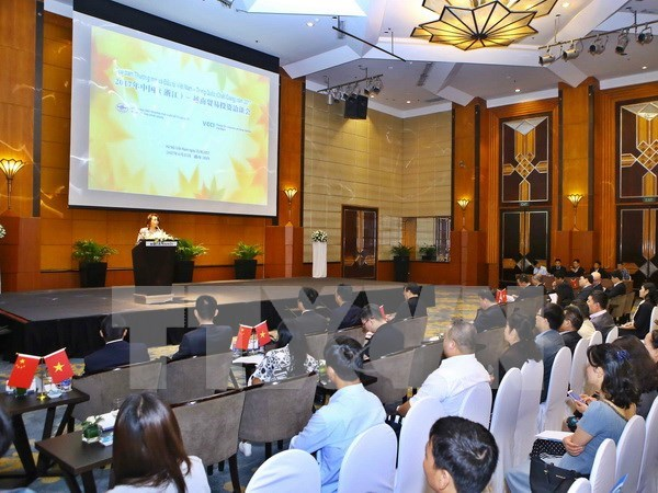 Conference offers trade opportunities to Vietnam, China businesses hinh anh 1
