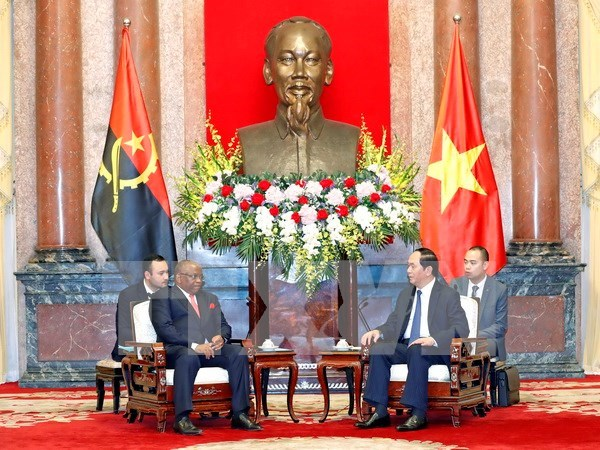 President hails potential for Vietnam, Angola cooperation hinh anh 1