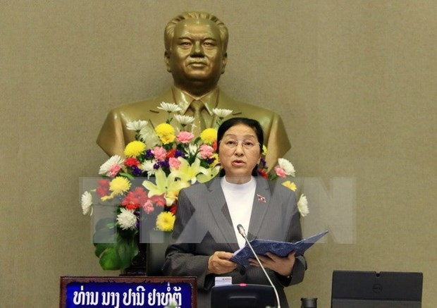Lao National Assembly convenes 3rd session hinh anh 1