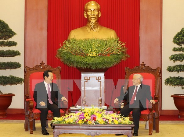 Party leader wants more productive partnership with RoK hinh anh 1