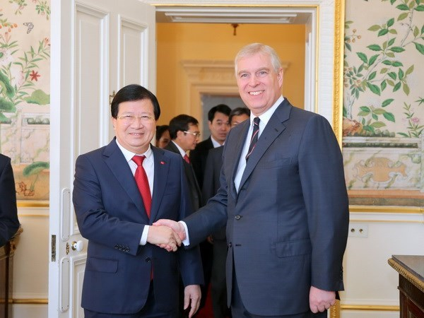Deputy Prime Minister makes official visit to UK hinh anh 1