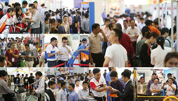 Vietnam Manufacturing Expo 2017 opens hinh anh 1
