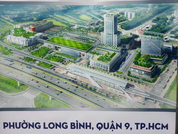 HCM City: Construction on new eastern coach station begins hinh anh 1