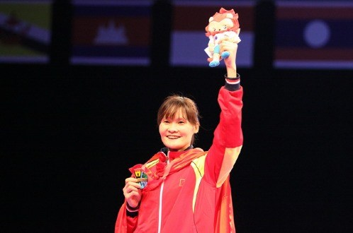 Vietnamese taekwondo fighters win golds at Kazakhstan Open hinh anh 1