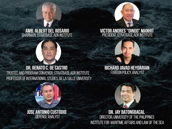 Seminar talks East Sea in the Philippines hinh anh 1