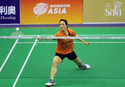 Trang enters second round of Asian badminton tourney hinh anh 1