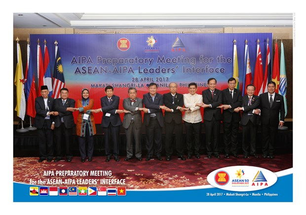 Vietnam contributes two proposals to AIPA Message hinh anh 1