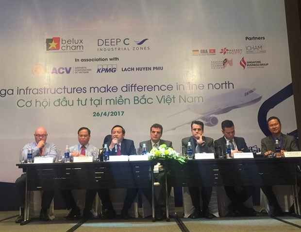 Infrastructure attracts investment to north Vietnam hinh anh 1