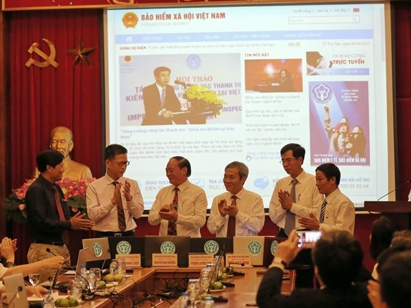 Vietnam Social Insurance launches upgraded online portal hinh anh 1