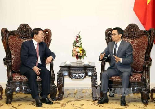 Cooperative ties between Vietnam, China academies praised hinh anh 1