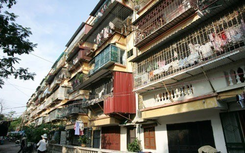 Only 14 of 1,516 old buildings in Hanoi renovated hinh anh 1