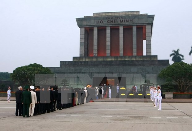Over 66,200 people pay tribute to late President Ho Chi Minh hinh anh 1
