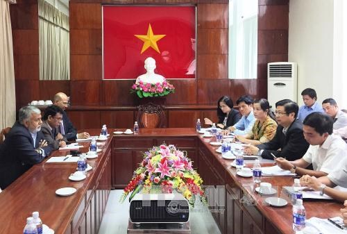 Can Tho, India discuss joint work in effective energy use hinh anh 1