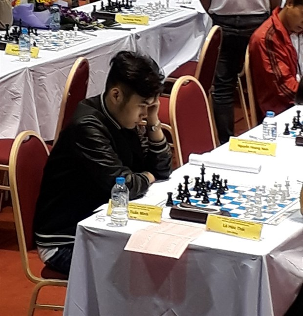 Vietnam's grandmaster secures gold at Asian junior chess meet hinh anh 1