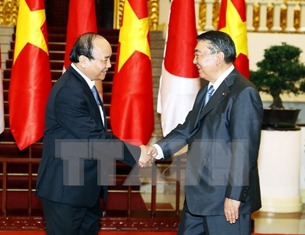 Prime Minister describes Japanese Speaker's visit as significant hinh anh 1