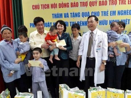 National fund raises 241.8 million USD for disadvantaged children hinh anh 1
