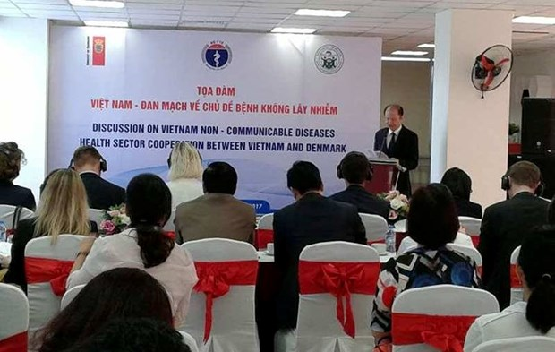 Vietnam, Denmark cooperate in preventing non-infectious diseases hinh anh 1