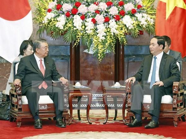 President: Vietnam considers Japan as leading partner hinh anh 1