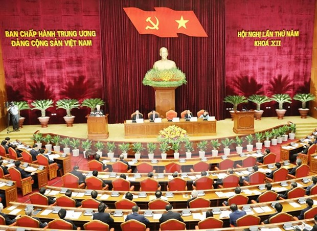 Party Central Committee convenes 5th meeting hinh anh 1