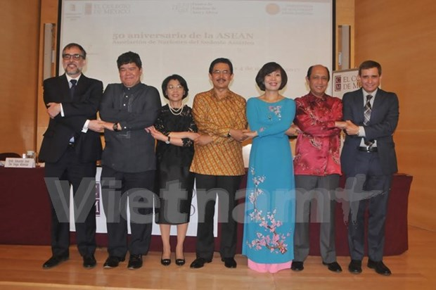 Conference held in Mexico to mark ASEAN's 50th anniversary hinh anh 1
