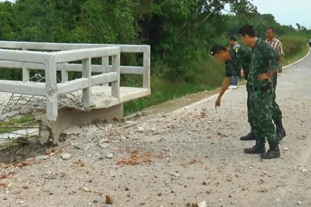 Bomb attack in Thailand-Malaysia border injures six hinh anh 1