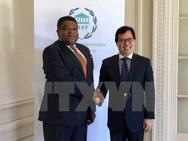 Vietnam Mission to Geneva contributes to IPU symposium preparations hinh anh 1