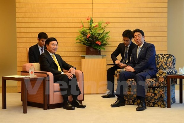 Deputy PM meets Japanese leaders hinh anh 1