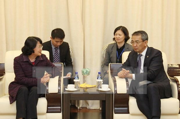 Vice President begins official visit to Mongolia hinh anh 1